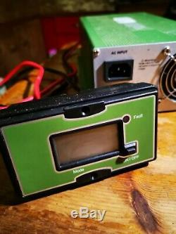 12v Portable Power Technology leisure battery charger 60A