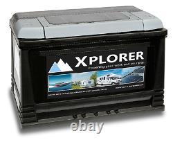 12v Sealed Xplorer 130 Ah Heavy Duty Leisure Battery