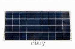 130Ah Leisure Battery, 115W Solar Panel, Charge Controller, Cable and Brackets