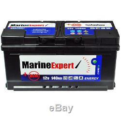 140Ah AGM Marine Bootbatterie Boat Maintenance-Free Battery Instead 120Ah 110Ah