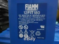 180ah 12v FIAMM LEISURE BATTERY, 8 IN STOCK, 2016 DATE CODE