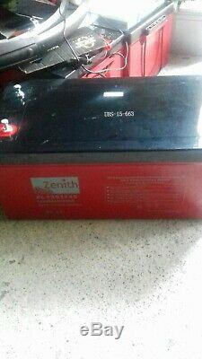 1 x 12V 260AH Zenith AGM Deep Cycle Leisure Battery Brand New