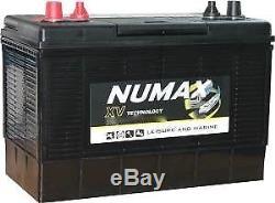 2 X 12V 120AH Numax XV35MF CXV Supreme Ultra Deep Cycle Leisure Marine Battery