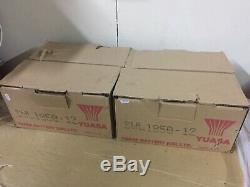 2 YUASA SWL1850 12v-66ah LEISURE /SOLAR / OFF GRID POWER INVERTER BATTERY