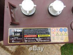 2 x 105Ah 12V Trojan Deep-Cycle Flooded Leisure Batteries