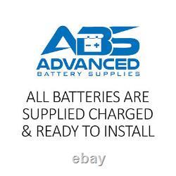 2 x AGM 100 Sealed Leisure Batteries 100ah 12v CAMPERVAN MOTORHOME BATTERIES