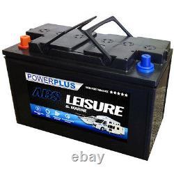 2 x leisure battery L110 type 12volt caravan battery/boat/motorhome non sealed