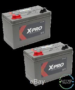2x12V 110AH (C100) Numax XV31MF UltraDeepCycle Leisure Battery X-Pro Replacement