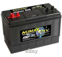2x12V 120AH Leisure Battery Numax XV35 Caravan Motorhome Marine Boat Motor mover