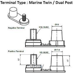2x 110AH Leisure Battery X-Pro M31-800 12V 100AH Dual Purpose Cyclic set of 2