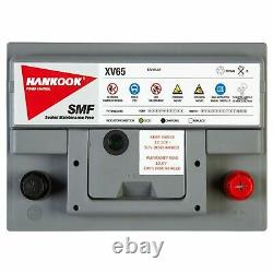 2x 12V 65Ah Leisure Batteries for Camper, Caravan, Boat & Electric Fence