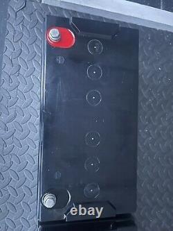 2x 12v 115ah deep cycle AGM leisure Batteries