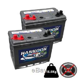2x 85Ah Leisure Battery XV24 12V Completely Sealed Battery