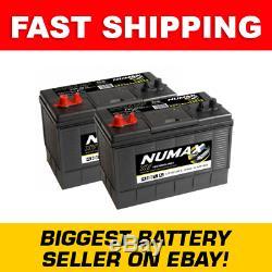 2x NUMAX 105ah Leisure/caravan/boat Battery XV31MF CXV