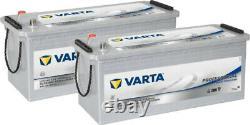 2x Varta LFD140 Dual Purpose Leisure Batteries 12V 140Ah Caravan Motorhome Boat
