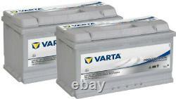 2x Varta LFD90 Dual Purpose Leisure Batteries 12V 90Ah Caravan Motorhome Boat