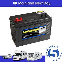3 x 135ah Leisure Battery 12v XD35 5yr Warranty Motor Mover Type 1100cca