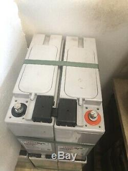 4 Enersys 12NXS61 USE AS 12V OR 24v (3KW) Leisure /SOLAR /OFF GRID BATTERIES