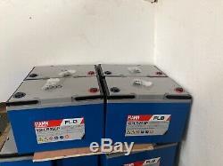 4 FIAMM FLB250 LEISURE SOLAR INVERTER BATTERY Ideal For Caravan/Boats 12V-280AH