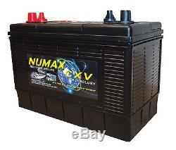 4 X 12V 110AH Dual Purpose Leisure Battery Numax XV31MF 250 Cycles