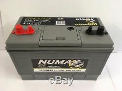 (4 X 12v 105ah) Deep Cycle Battery Numax XV31MF Leisure Caravan Mover Marine