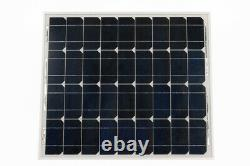 65Ah Leisure Battery and 30W Solar Panel Package, Perfect for Electric Fences
