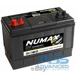 7 (seven) x 12V 105AH Leisure Battery Numax XV31MF Motorhome, Caravan & Marine