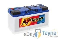 95751 Banner Leisure Battery 12V 100/110Ah