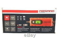 ABSAAR AB-4 6V/12V 4A Automatic Intelligent Leisure Battery Charger upto 120AH