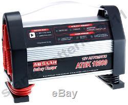 ABSAAR ATEK 16000 12V 6A 8A 10A 16A Leisure Battery Charger 25AH 200AH Battery