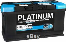 AGMLB6110L Platinum Leisure AGM Plus Battery 12V 100Ah