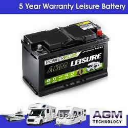 AGM LP100 100ah 12 volt LEISURE & STARTER Battery Low Height Style