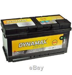 AGM Solar Battery USV 140Ah Dynamax Maintenance-Free Emergency Power Instead