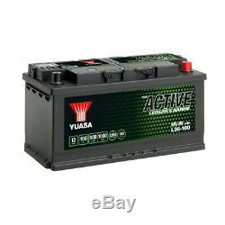 Battery Discharge Slow Yuasa L36-100 Leisure 12v 100ah