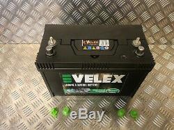 Boat 12v 110ah Hd Ultra Deep Cycle Extra Long Life Leisure Battery