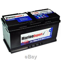 Bootbatterie 100Ah AGM Boat Supply Battery Starterbatterie Battery 12v