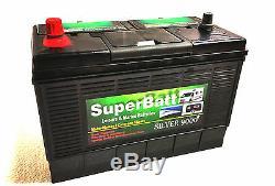 Caravan Motorhome Leisure Battery 12V 135AH Heavy Duty Deep Cycle