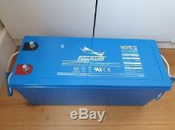 DC210-12 FullRiver Deep Cycle 12v AGM Leisure Battery 210Ah (CCA 1180Ah)