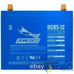 DC85-12 FullRiver DC Series Deep Cycle AGM Leisure Battery 85Ah