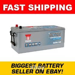 DLMA-145 Yuasa YBX ACTIVE Leisure & Marine Dual Battery 12V