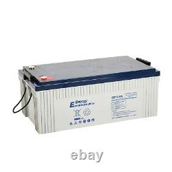 Deal Pair 2 X 12v 260ah Expedition Plus Agm Leisure Batteries (exp12-260)