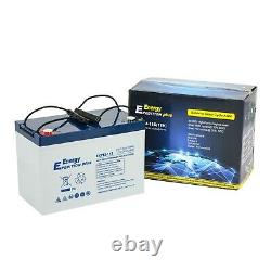 Deal Pair Of 12v 115ah Expedition Plus Agm Leisure Batteries (exp12-115)