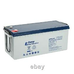 Deal Pair Of 12v 200ah Expedition Plus Agm Leisure Batteries (exp12-200)