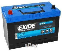 Deep Cycle Leisure Battery 12V 95AH ER450 EXIDE Original Equipment Manufacturer
