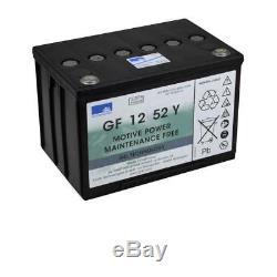 Deep Cycle Leisure Gel Battery 12V 52Ah Sonnenschein GF 12 52 Y