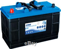 Deep Cycle Leisure Marine Battery 12V 115AH (110AH) ER550 Made In Europe