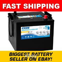 ES1200 Exide G110 Marine and Multifit Gel Leisure Battery 110Ah