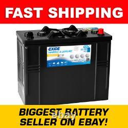 ES1300 Exide G120 Exide Marine and Multifit Gel Leisure Battery 120Ah