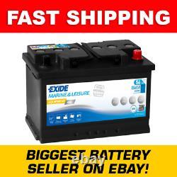 ES650 Exide G60 Marine and Multifit Gel Leisure Battery 56Ah