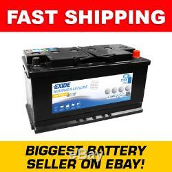 ES900 Exide G80 Marine and Multifit Gel Leisure Battery 80Ah